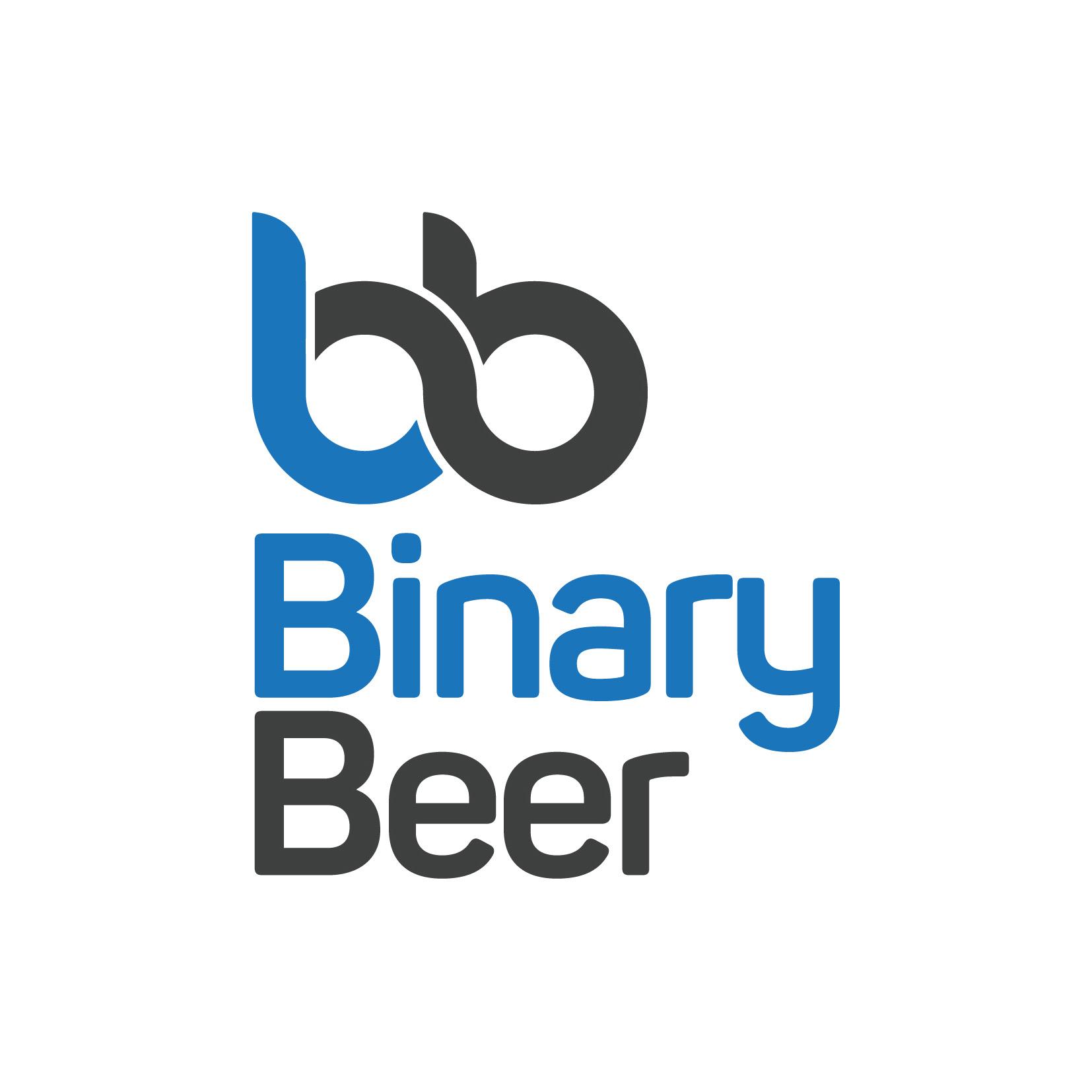 Binary Beer logo design