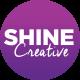 Shine creative logo